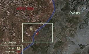 """תוואי המנהרה בגבול הצפון (צילום: דובר צה""""ל, חדשות)"""