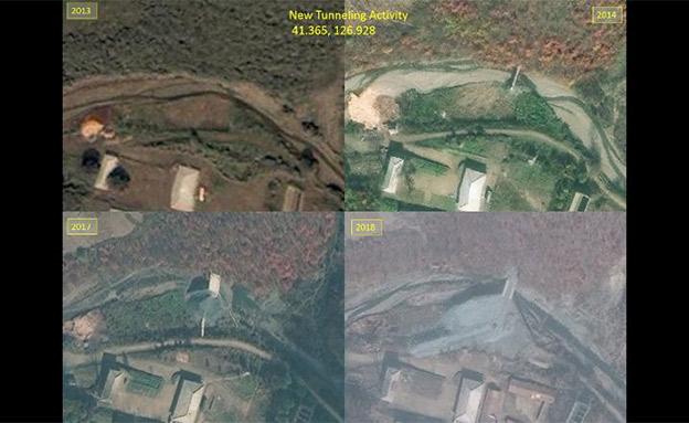צפון קוריאה הרחיבה את הפעילות (צילום: חדשות)
