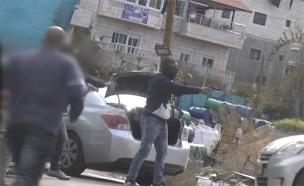 תיעוד המעצר בכפר בידו (צילום: דוברות המשטרה, חדשות)