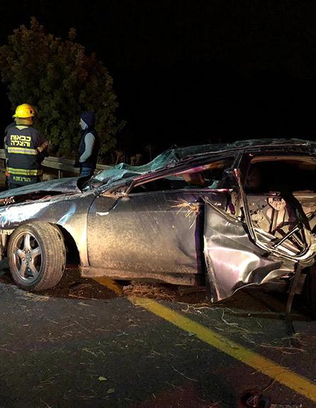 התאונה הקטלנית בכביש 6