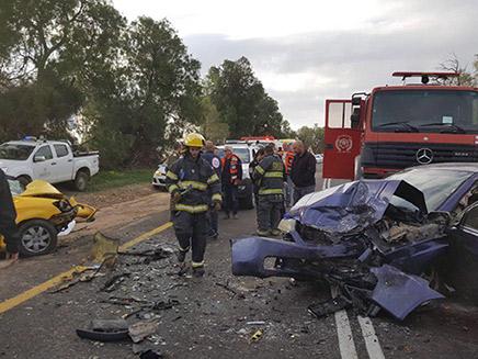 הרוג ו-2 פצועים קשה בתאונה בדרום