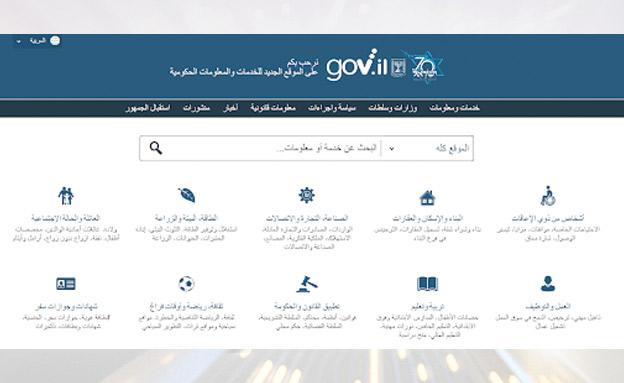 אתר המשרד לשיוויון חברתי (צילום: חדשות)