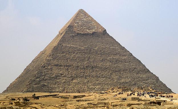 הפירמידה הגדולה של גיזה (צילום: רויטרס, חדשות)