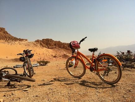 אופניים בערבה