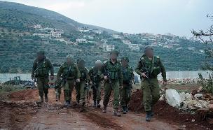 """כוחות צה""""ל בגבול לבנון (צילום: דובר צה""""ל, חדשות)"""