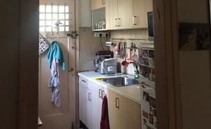דירה בתל אביב, עיצוב קרן בר, לפני השיפוץ - 3 (צילום: קרן בר)