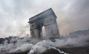 מהומות בפריז (צילום: GettyImages)