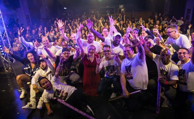 רייב חירש (צילום: מתוך העמוד בפייסבוק של Deaf Rave )