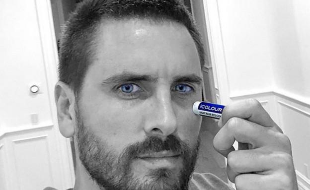 סקוט דיסיק מפרסם תכשיר לשינוי צבע עיניים (צילום:  adomeitfilm, instagram)
