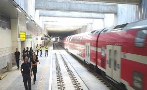 שוב תקלות בקו המהיר לירושלים (צילום: דוברות רכבת ישראל, חדשות)