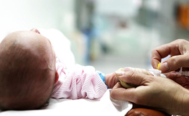 התינוק שהה באזפוז למשך שבועיים (אילוסטרציה) (צילום: RF123, חדשות)