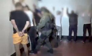 תיעוד מעצר הישראלים (צילום: מתוך הטוויטר של התובע הכללי בקולומביה, חדשות)