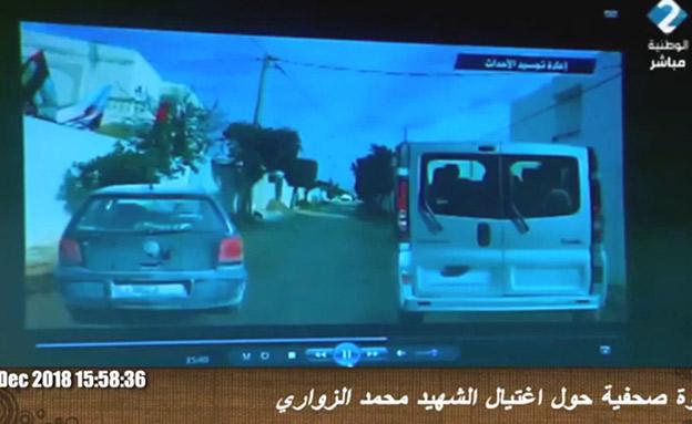 מעקב אחרי מהנדס חאמס בתוניסיה (צילום: חדשות)