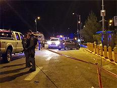 זירת פיגוע הירי בעפרה, השבוע (צילום: ענבל ראובני / TPS)