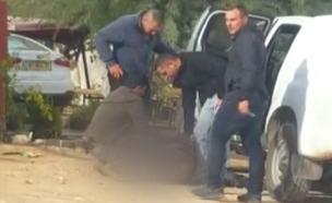 תיעוד: המעצר האלים ברהט (צילום: חדשות)