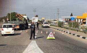 המשטרה פרסה מחסומים וחילצה את המורה שנחטף (צילום: חדשות)