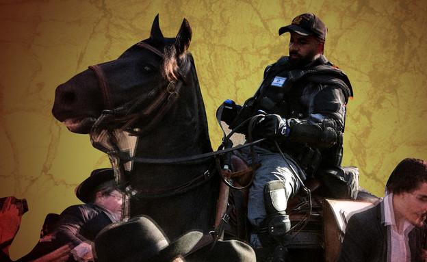 ראשית שוטרים-חרדים (צילום: Roy AlimaFlash90)