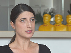 """צפו בריאיון עם בתו של יגאל בשן ז""""ל (צילום: החדשות)"""