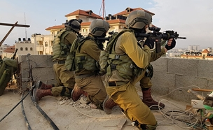 """כוחות צה""""ל בזמן מעצר (צילום: דובר צה""""ל, חדשות)"""