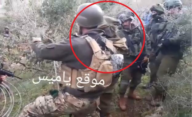 עימות בין חיילים לבנונים לצה