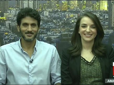 הריאיון הזוגי של לוסי וצחי ב-CNN (צילום: CNN, חדשות)