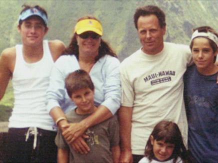 משפחת רמון (צילום: באדיבות המשפחה, חדשות)