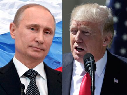 טראמפ פוטין תקיפה ארה