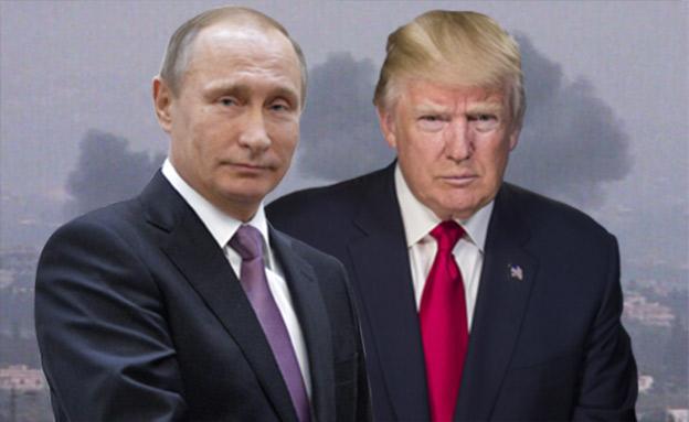 """טראמפ פוטין תקיפה ארה""""ב (צילום: רויטרס, חדשות)"""