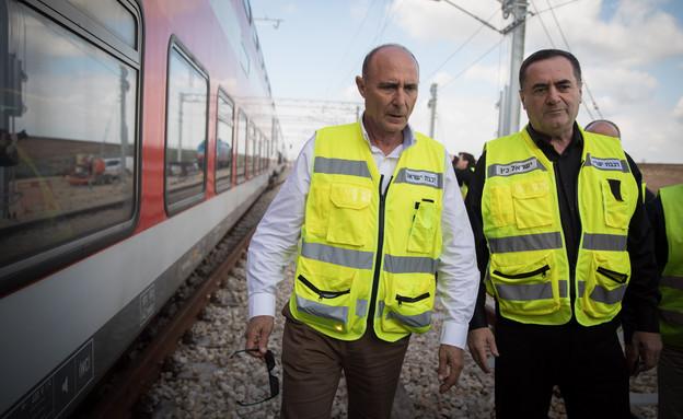 שר התחבורה ישראל כץ ומנכ
