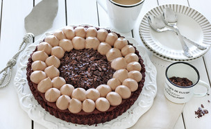פאי אקסטרה שוקולד (צילום: ענבל לביא, אוכל טוב)