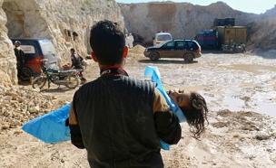 נפגעים מנשק כימי בסוריה (צילום: רויטרס, חדשות)
