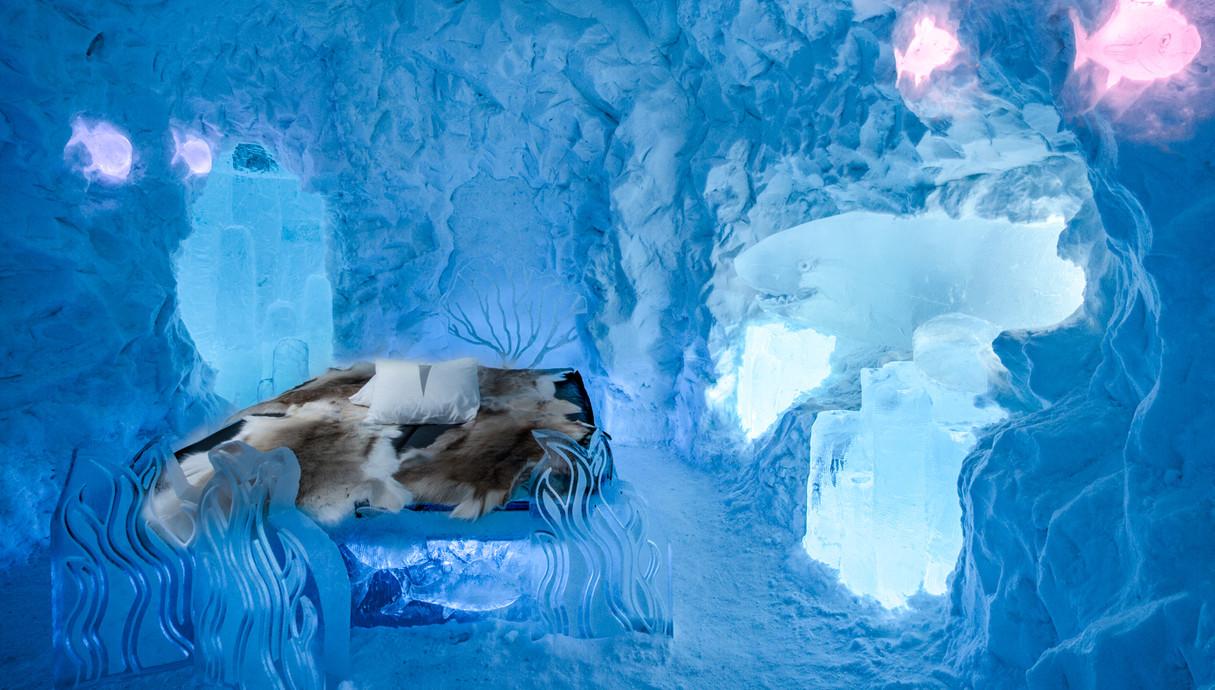 מלון קרח בלפלנד