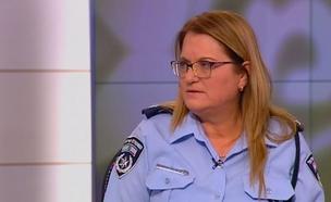 הודיעה כי בכוונתה לפרוש מהמשטרה, גזיאל (צילום: חדשות 2)