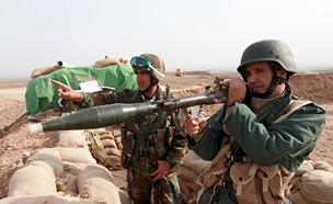 לוחמים כורדים בעירק (צילום: רויטרס, חדשות)