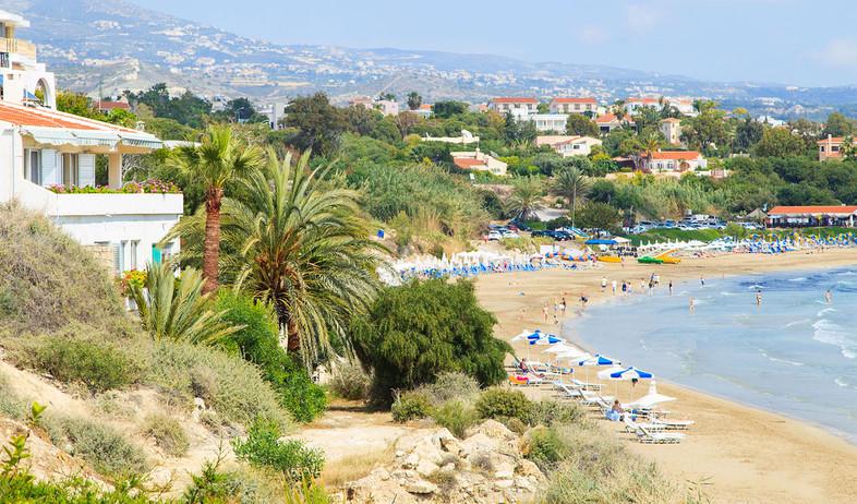 קפריסין, פאפוס, חוף (צילום: יחסי ציבור, ארקיע)