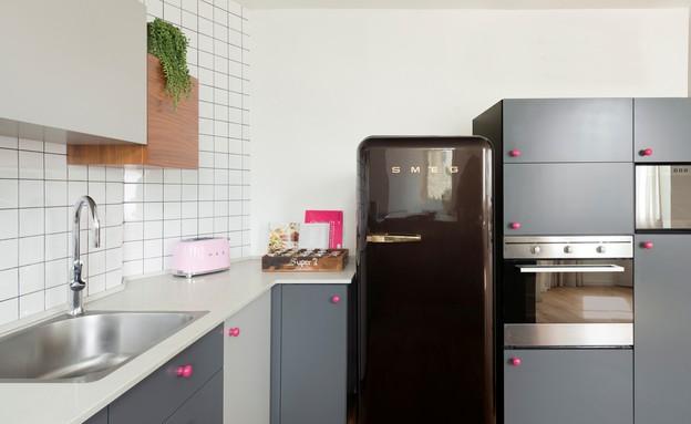 דירה בהרצליה, עיצוב סטודיו פרי, מטבח (צילום: גדעון לוין)