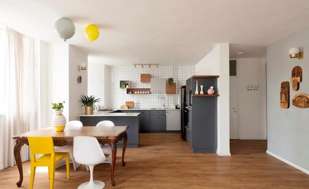 דירה בהרצליה, עיצוב סטודיו פרי, פינת אוכל (צילום: גדעון לוין)