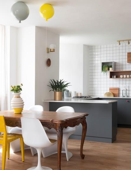 דירה בהרצליה, ג, עיצוב סטודיו פרי, פינת אוכל (צילום: גדעון לוין)