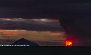 הר הגעש באינדונזיה (צילום: Øystein Lund Andersen, חדשות)