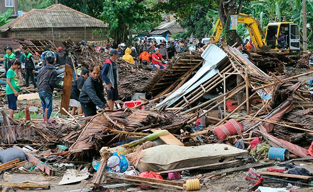 עשרות נעדים. אינדונזיה (צילום: AP, חדשות)