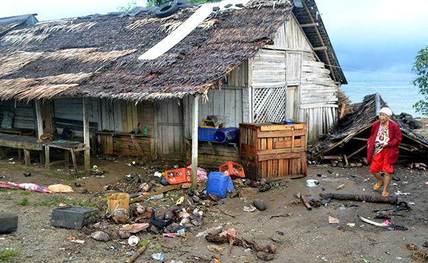 אסון כבד באינדונזיה (צילום: רויטרס, חדשות)