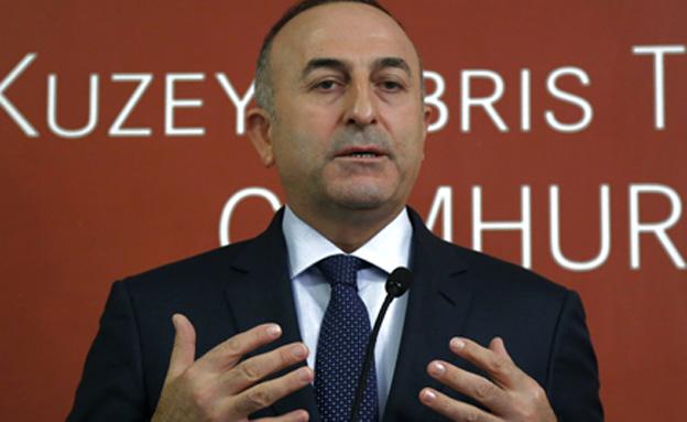 שר החוץ הטורקי, מבלוט צ'בסוגלו (צילום: AP, חדשות)