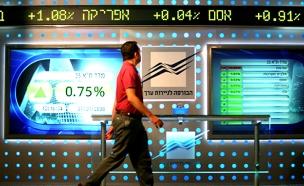 """פתיחה חיובית בבורסה בת""""א (צילום: משה שי, פלאש 90, חדשות)"""