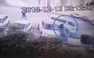 תיעוד החטיפה באום אל פאחם (צילום: חדשות)