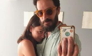 אנה ארונוב ואייל אלגבי (צילום: מתוך עמוד האינסטגרם של אנה ארונוב, מתוך instagram)