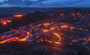 לבה בהוואי (צילום: Joe Belanger, shutterstock)