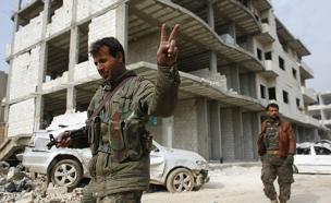 חמושים כורדים בסוריה (צילום: רויטרס, חדשות)