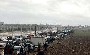 כ-1300 מפגינים על גבול הרצועה (צילום: חדשות)
