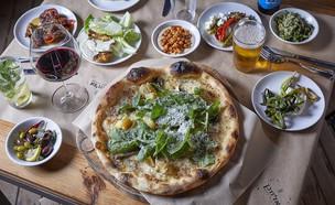 ארוחת ערב פיצה (צילום: אפיק גבאי, יחסי ציבור)