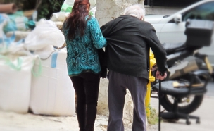 מתקיימים מקצבת זקנה בלבד (צילום: חיים ריבלין, חדשות)